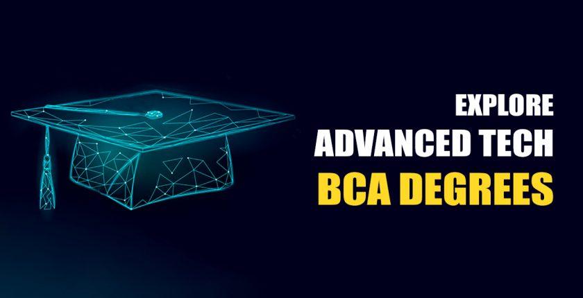 BCA Programs after class 12th