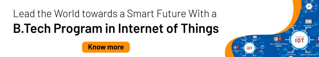 B.Tech Programs Internet of things Courses